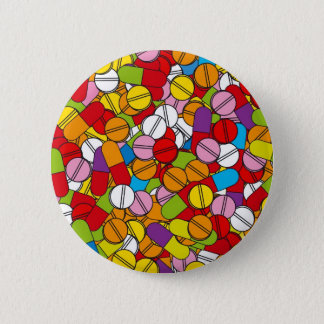 Lots of Pills Pinback Button