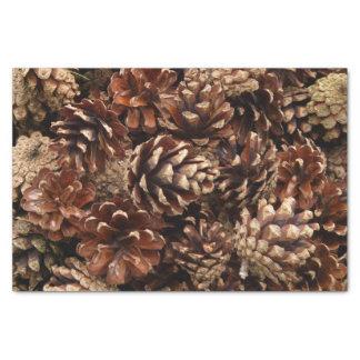 """Lots of Pine Cones 10"""" X 15"""" Tissue Paper"""