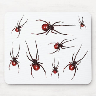 Lots of Redback Spiders Mouse Pad