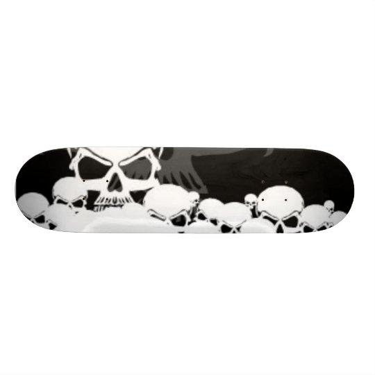 Lots of Skulls Skateboard