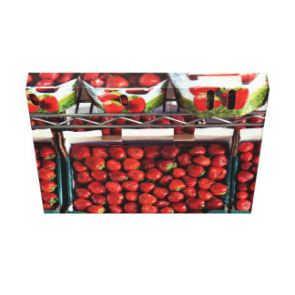 Lots of Strawberries Canvas Print