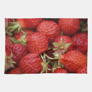 Lots of Strawberries Kitchen Towel