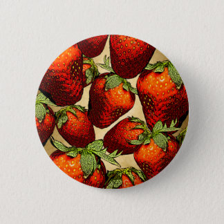 Lots of Strawberries Pinback Button
