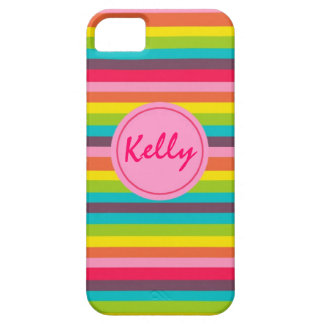 Lots of Stripes Monogram Personalized Case