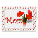 Lots of Tulips for Mom Mother's Day Photo Frame Card