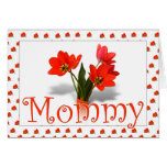 Lots of Tulips for Mom Mother's Day Photo Frame Greeting Cards