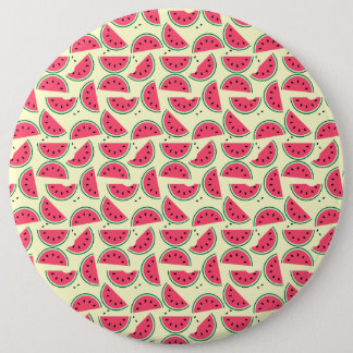LOTS OF WATERMELONS Colossal, 6 Inch Round Button