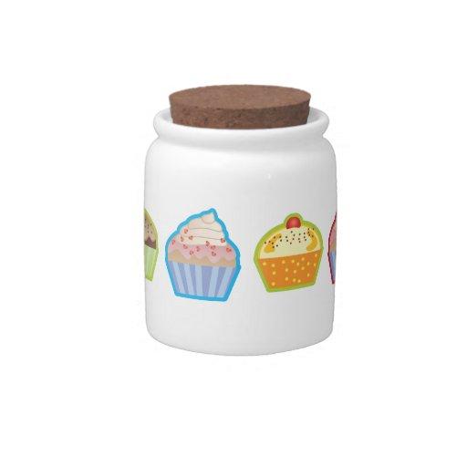 Lotsa Cupcakes Candy Jar