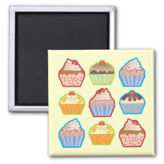 Lotsa Cupcakes Magnet