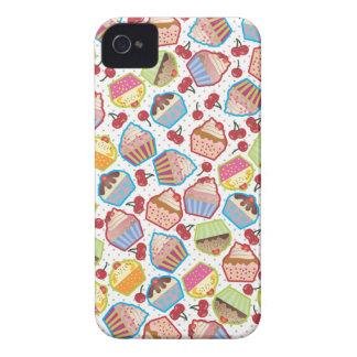 Lotsa Cupcakes n Cherries BlackBerry Bold Case