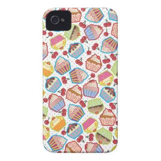 Lotsa Cupcakes n Cherries iPhone 4 Case