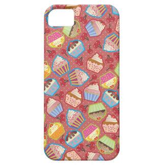 Lotsa Cupcakes n Cherries Pink iPhone 5 Case