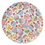 Lotsa Cupcakes n Cherries Plate