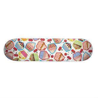 Lotsa Cupcakes n Cherries Skateboard