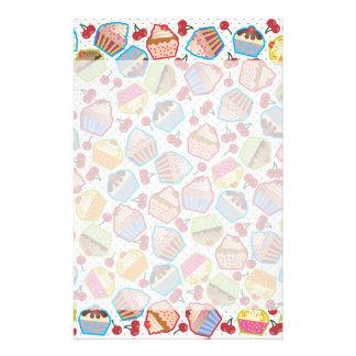 Lotsa Cupcakes n Cherries Stationery