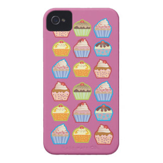 Lotsa Cupcakes Pink BlackBerry Case