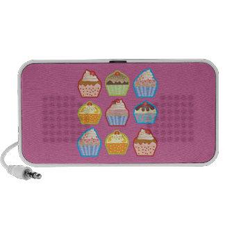 Lotsa Cupcakes Pink Doodle Speaker