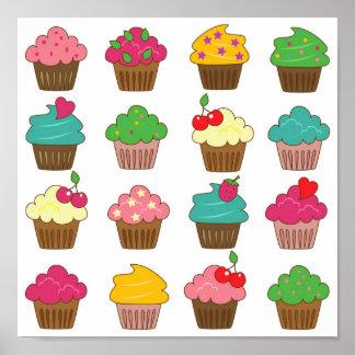 Lotsa Cupcakes Poster