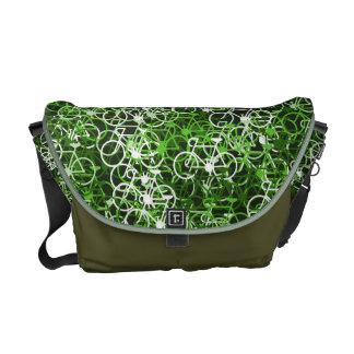 Lotsa Green Bikes Cyclist's Messenger Bag
