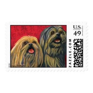 Lotsa Lhasa Love Stamp