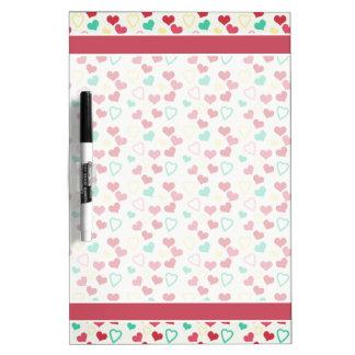 Lotsa Little Hearts Dry Erase Board