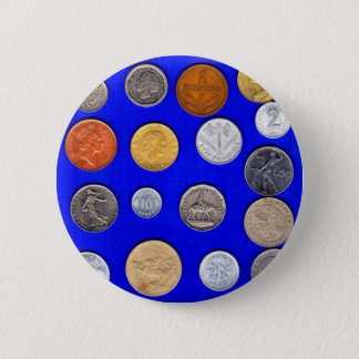 lotsa old foreign coins button
