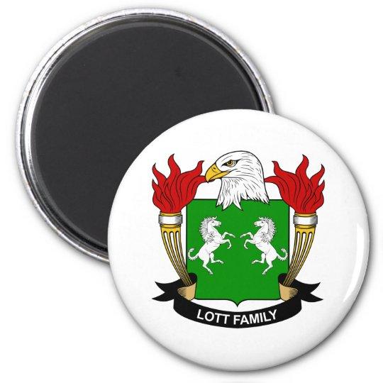 Lott Family Crest Magnet