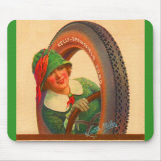 Lotta Miles Kelly-Springfields tire mascot Mouse Pad