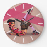 Lotta Payne - chica modelo de Derby del rodillo Reloj