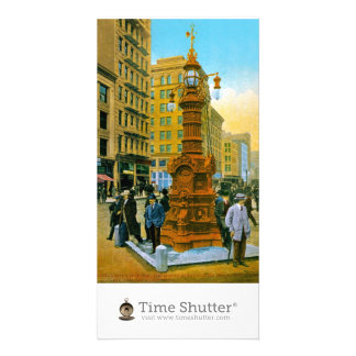 Lotta s Fountain 2 Personalized Photo Card