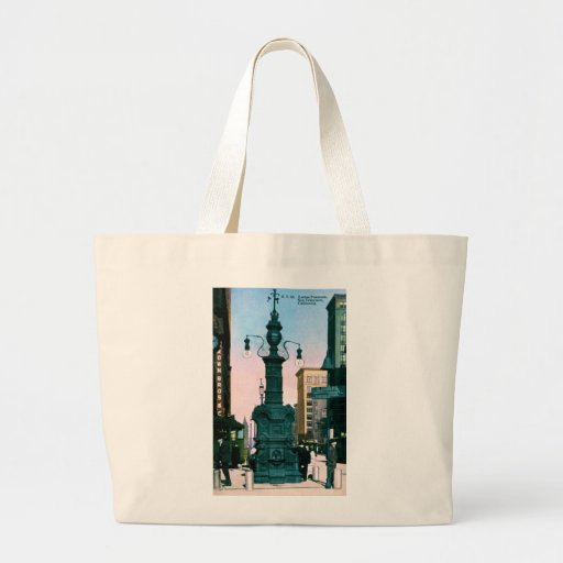 Lottas Fountain, San Francisco, California ~ 1910 Bags