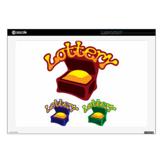 Lottery Chest Decal For Laptop