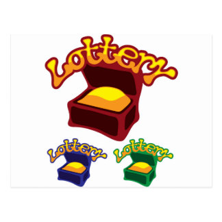 Lottery Chest Postcard