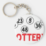 lottery designs keychain