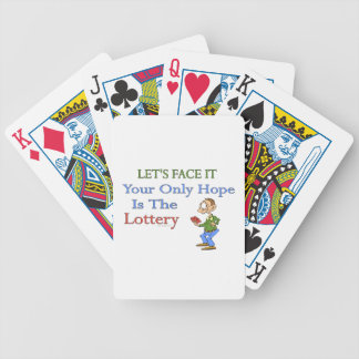 Lottery Humor Deck Of Cards