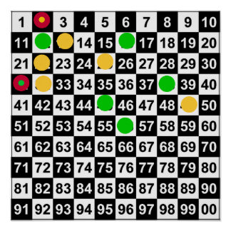 Lottery Predictions Game- Lottery/Roulette 3/30/12 Print