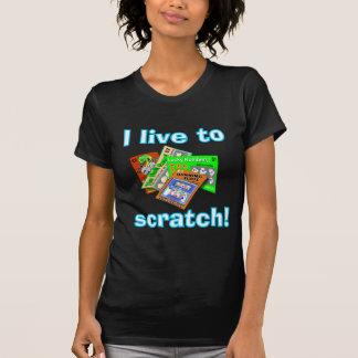 Lottery Scratch-Off dark shirt