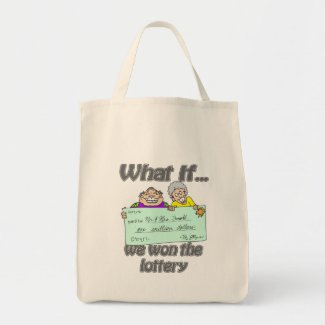 Lottery winners bag