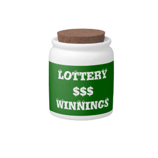 Lottery Winnings Retirement Fund Spare Change Bank Candy Jars