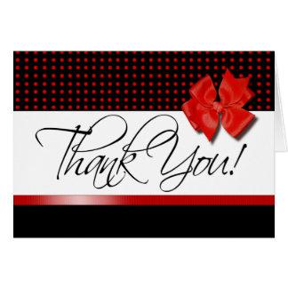 Lotti Dotti - gracias la tarjeta de nota roja
