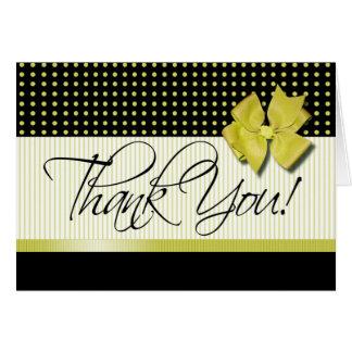 Lotti Dotti - gracias tarjeta de nota el azafrán