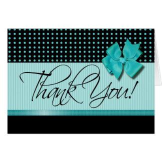 Lotti Dotti - gracias tarjeta de nota la aguamari
