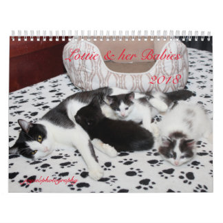 LOTTIE AND HER BABIES 2018 CALENDAR