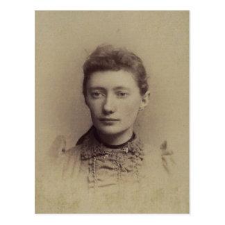 Lottie ZARFOS b 1870 del condado de York PA Postal