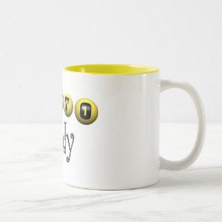 Lotto Lady T-shirts and Gifts. Two-Tone Coffee Mug