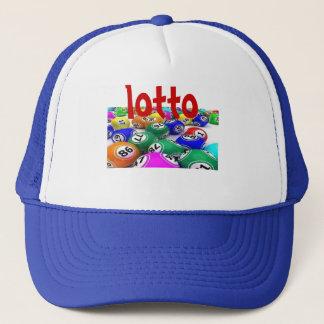 lotto wins trucker hat