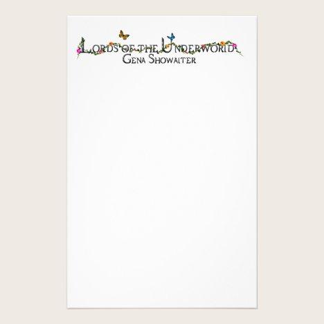 LotU paper. Stationery