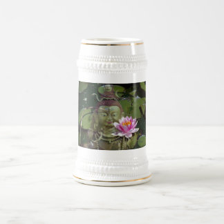 Lotus 1 & Buddha Beer Stein