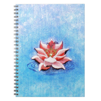 Lotus And Dharma Notebook