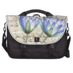 Lotus and Music Bag For Laptop